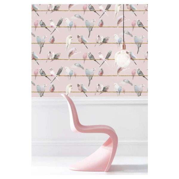 Koziel Handcraft Wallpaper Collection Lovebirds